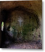 The Hermit's Cross Metal Print