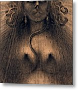The Idol Of Perversity, 1891 Metal Print