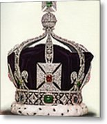 The Imperial Crown Of India Metal Print