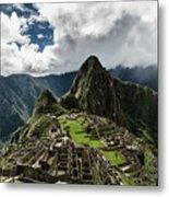The Inca Trail, Machu Picchu, Peru Metal Print