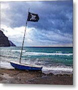 The Jolly Roger Metal Print