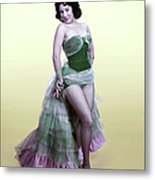 The Lady In The Spanish Dress Metal Print