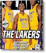 The Lakers SLAM Cover Metal Print