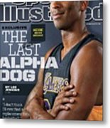 The Last Alpha Dog Sports Illustrated Cover Metal Print
