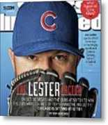 The Lester Factor Sports Illustrated Cover Metal Print
