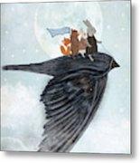 The Light Bird Metal Print
