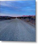 The Long Dirt Road Metal Print