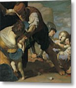 The Massacre Of The Innocents  After       Metal Print