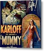 The Mummy 1932 Film Metal Print