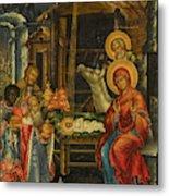 The Nativity, Russia, 1848 Metal Print