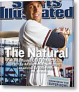 The Natural Atlanta Rookie Jeff Francoeur Is Off To An Sports Illustrated Cover Metal Print