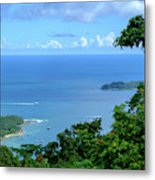 The North Bay As Seen From Mount Harriett Metal Print