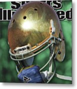 The Notre Dame Miracle Sports Illustrated Cover Metal Print
