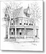 The Old Governors Mansion,  Helena, Montana Metal Print