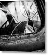 The Old Truck Metal Print