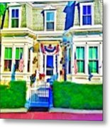 The Prince Albert Guesthouse-provincetown, Massachusetts  Metal Print