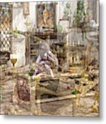The Reality Question Metal Print