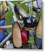 The Red Sole Shoes 4 Metal Print