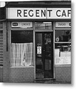 The Regent Cafe Metal Print