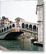 The Rialto Bridge  Metal Print