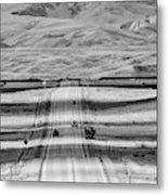 The Road From Casper Metal Print