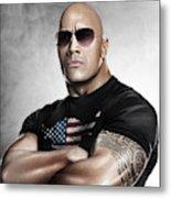 The Rock Dwayne Johnson I I Metal Print
