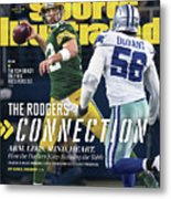 The Rodgers Connection Arm. Legs. Mind. Heart. Sports Illustrated Cover Metal Print