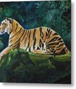 The Royal Bengal Tiger Metal Print