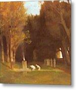 The Sacred Grove 1886 Metal Print