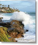 The Sea Was Angry That Day My Friends Metal Print