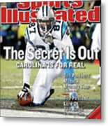 The Secret Is Out Carolina Is For Real Sports Illustrated Cover Metal Print