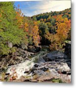 The Sinks On Little River Road In Smoky Mountains National Park Metal Print