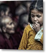The Song Of The Monks Metal Print