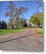 The Streets Of Bruce. Metal Print