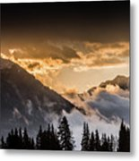The Sun Is Coming Metal Print