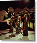 The Supremes Perfom On Tv Show Metal Print