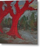 The Three Primary Colors Are The Unchanging Center Of The Stories Metal Print