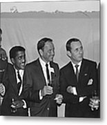 The Usual Rat Pack Metal Print