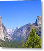 The Valley Of Inspiration-yosemite Metal Print