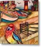 The Venician Bird Metal Print