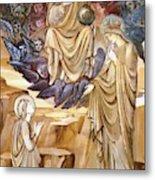 The Vision Of Saint Catherine Metal Print