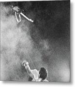 The Who Performing In Flint, Mi Metal Print