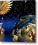 The Wickers-... Out For A  Midnight Swim... Metal Print