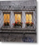 The Windows Of Sofia Metal Print