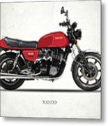 The Yamaha Xs1100 Metal Print