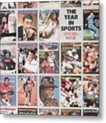 The Year In Sports Issue... Sports Illustrated Cover Metal Print