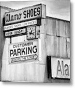 These Shoes Alamo Shoes Metal Print