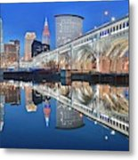 This Is Cleveland II Metal Print
