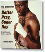 Thomas Hearns, Welterweight Boxing Sports Illustrated Cover Metal Print