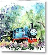 Thomas The Tank Engine In Buckfastleigh Metal Print